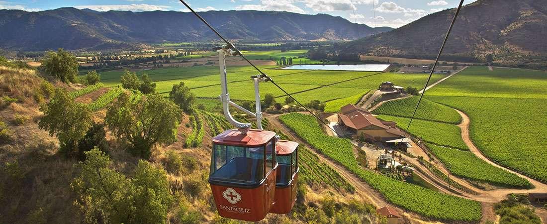 Valle de Colchagua en Chile, paraíso donde nace el Carménère
