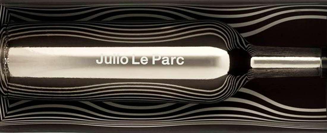 Antología Julio Le Parc, el juego de las refracciones en un vino