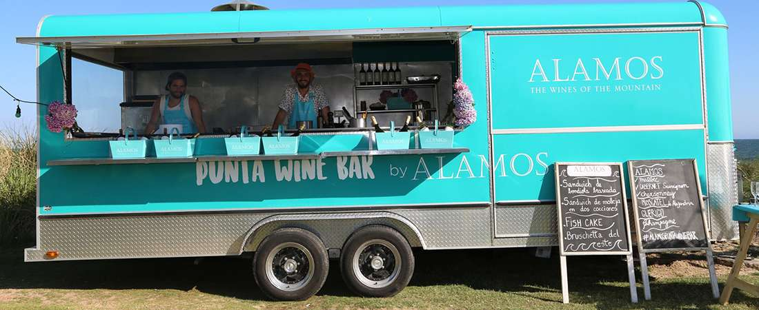 Subite al Alamos Punta Wine Bar