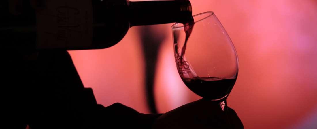 Exposición de vinos en La Enoteca